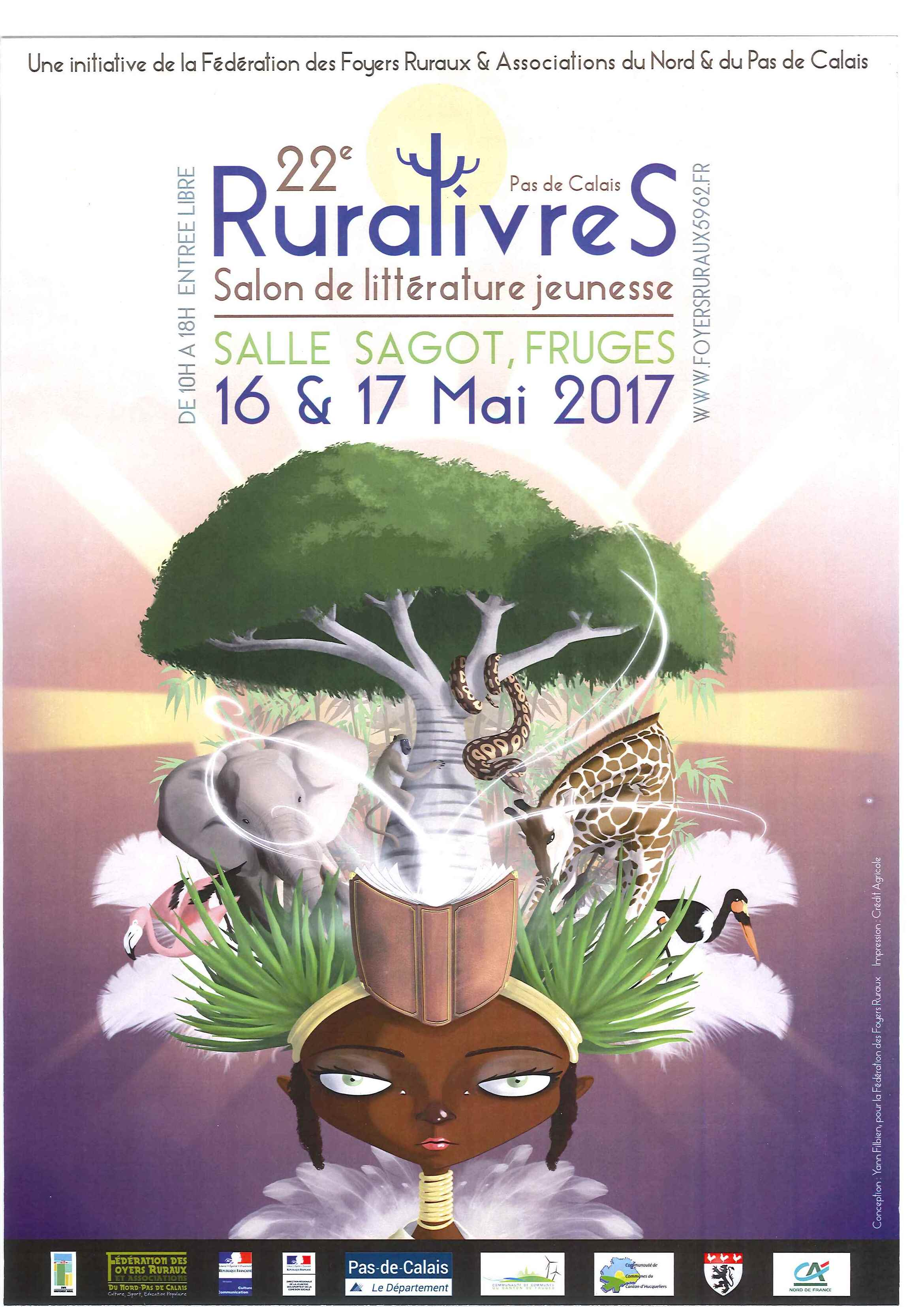Affiche salon du ruralivres