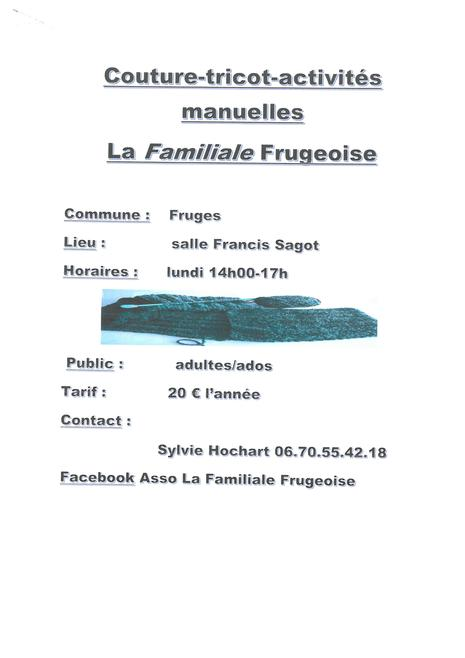 Familliale Frugeoise - Couture 2018